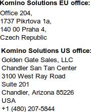 Komino Adresses