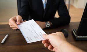 Cashier's checks
